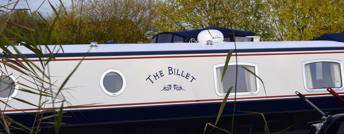 The Billet Luxury Canal Boat Hotel