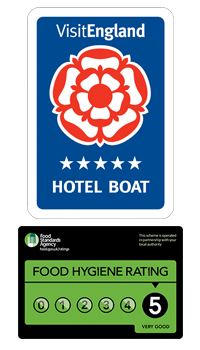 5 star hotel boat and food hygiene