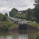 The Billet - preparing for Caen Hill flight of locks