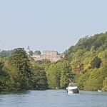 The Billet - view of Cliveden House