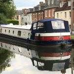 The Billet moored in Newbury