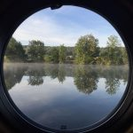 The Billet - view through a porthole