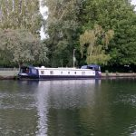 The Billet moored