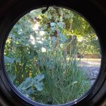 The Billet nature - view through. a porthole